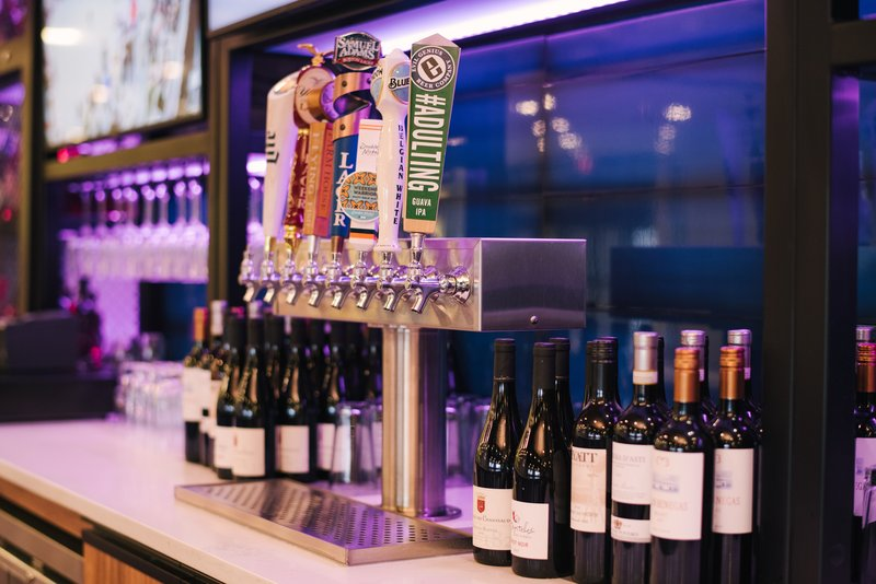 Craft Beer & Fine Wine Selection