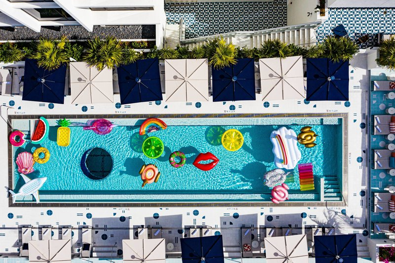 Aerial View - Outdoor Pool