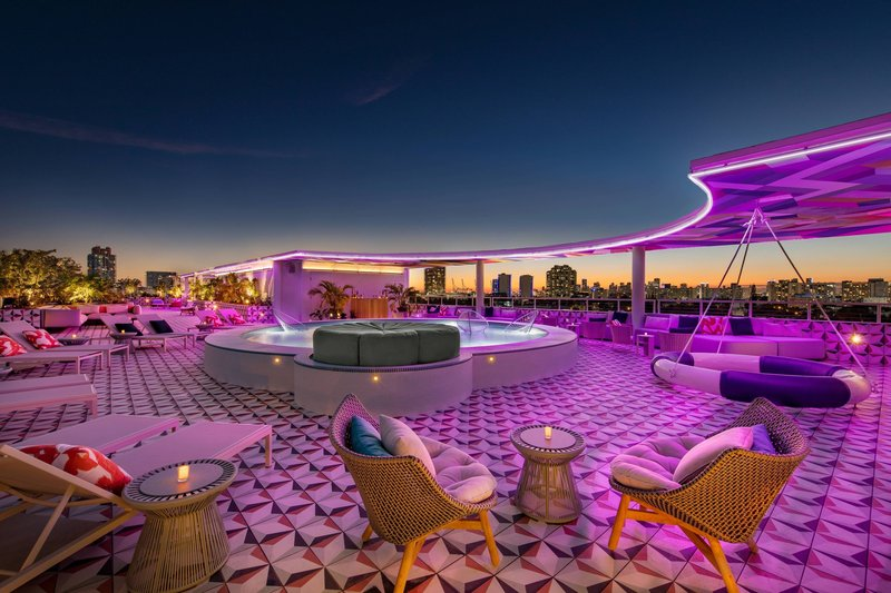 The Upside Rooftop Lounging Pool & Bar