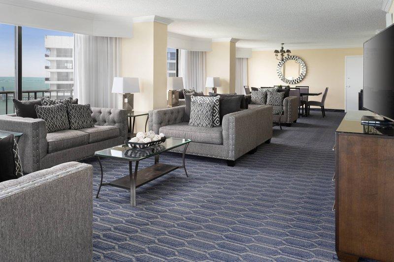 Presidential Suite - Living Space